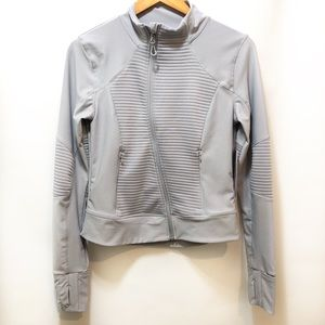 Mondetta performance side zip quilted jacket, S